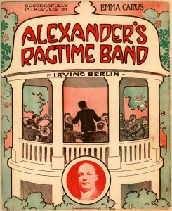 """Alexander's Ragtime Band"" sheet music"