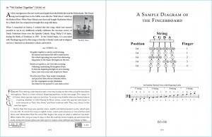 """Great American Songs: Duets for Piano and Cello"" pages 12-13: ""We Gather Together"" intro."