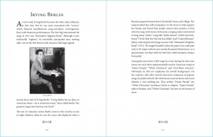 """Great American Songs: Duets for Piano and Cello"" pages 56-57: Irving Berlin profile."